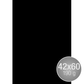 Image Coloraction 42x60, 190g, 100ark, sort