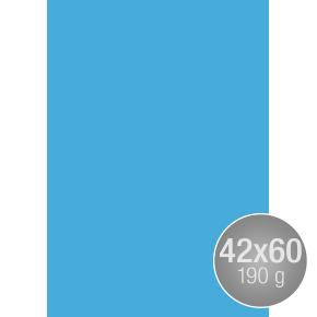 Image Coloraction 42x60, 190g, 100ark, koboltblå