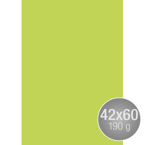 Image Coloraction 42x60, 190g, 100ark, limegrøn