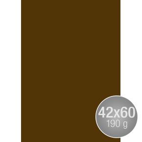 Image Coloraction 42x60, 190g, 100ark, mørk brun