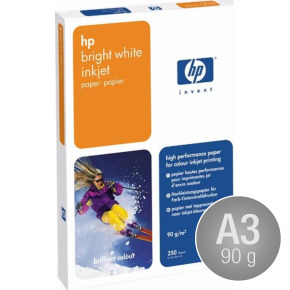 HP C1858A Bright White, A3/90g/500ark