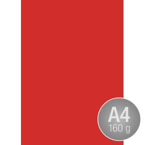 Image Coloraction A4, 160g, 250ark, valmuerød