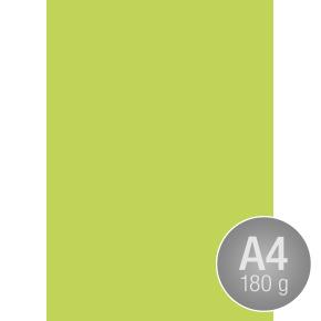 Karton Play Cut, A4, 180g, 100 ark, løvgrøn