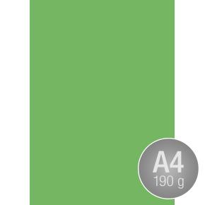 Image Coloraction A4, 190g, 100ark, mørk grøn
