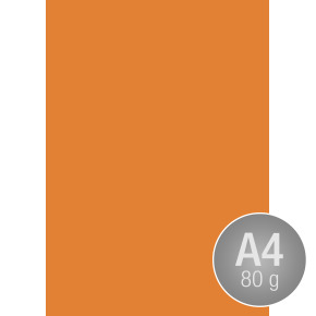 Image Coloraction A4, 80g, 500ark, orange