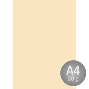 Image Coloraction A4, 80g, 500ark, vaniljegul