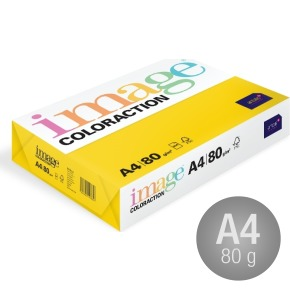 Image Coloraction A4, 80g, 500ark, rapsgul