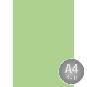 Image Coloraction A4, 80g, 500ark, jadegrøn