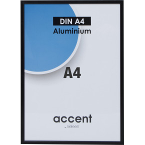 Accent Skifteramme A4, sort