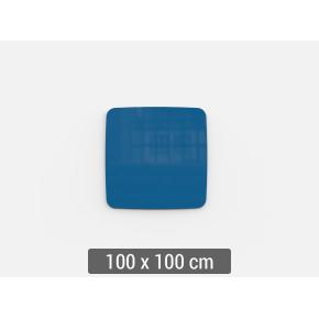 Lintex Mood Flow, 100 x 100 cm, blå clever
