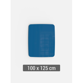 Lintex Mood Flow, 100 x 125 cm, blå clever