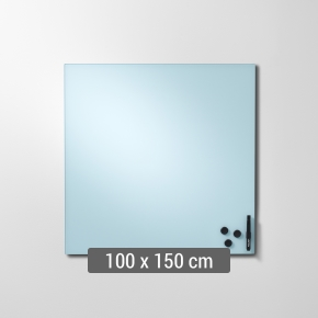 Lintex Mood Wall, 100 x 150 cm, dueblå calm