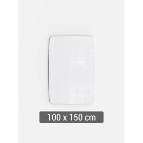Lintex Mood Flow, 100 x 150 cm, hvid