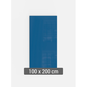 Lintex Mood Wall, 100 x 200 cm, blå clever