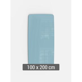 Lintex Mood Flow, 100 x 200 cm, dueblå calm