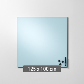 Lintex Mood Wall, 125 x 100 cm, dueblå calm
