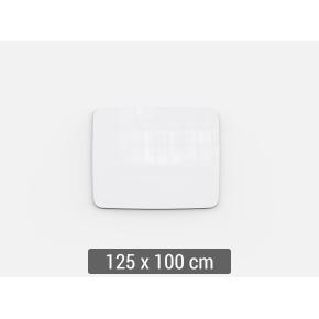 Lintex Mood Flow, 125 x 100 cm, hvid