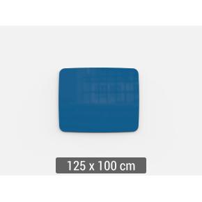 Lintex Mood Flow, 125 x 100 cm, blå clever
