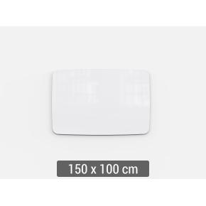 Lintex Mood Flow, 150 x 100 cm, hvid