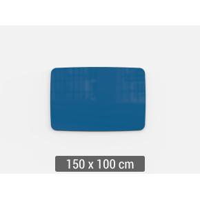 Lintex Mood Flow, 150 x 100 cm, blå clever