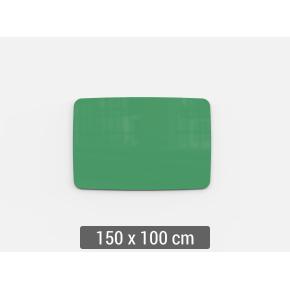 Lintex Mood Flow, 150 x 100 cm, grøn hopeful