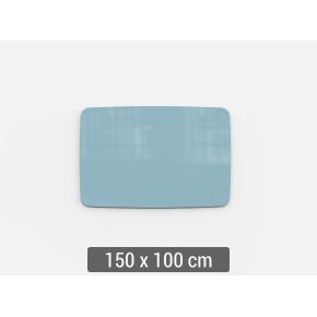 Lintex Mood Flow, 150 x 100 cm, dueblå calm