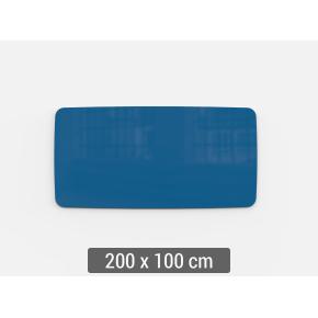 Lintex Mood Flow, 200 x 100 cm, blå clever