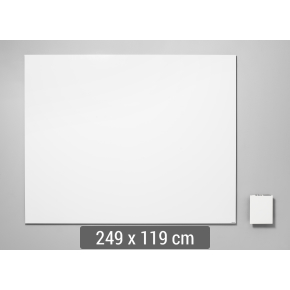 Lintex Air Whiteboard, 249 x 119 cm