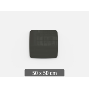 Lintex Mood Flow, 50 x 50 cm, mørkegrå classy