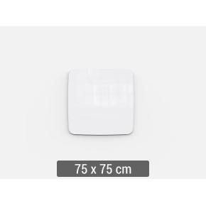 Lintex Mood Flow, 75 x 75 cm, hvid