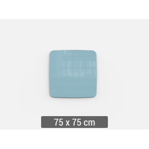 Lintex Mood Flow, 75 x 75 cm, dueblå calm