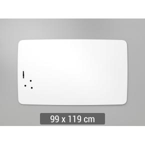 Lintex Air Flow Whiteboard, 99 x 119 cm
