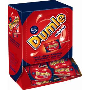 Fazer Dumle slikkepinde i display, 90x10g