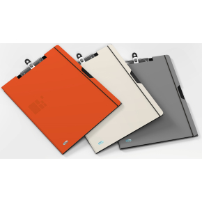 Elba for Business clipboard, grå