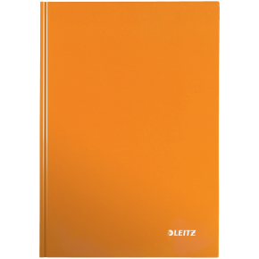 Leitz WOW notesbog A5, linjeret, orange