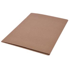DKF Kartonmappe nr. 135, folio, brun