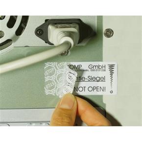 Avery L6114-20 plomb.etiketter, 63,5 x 29,6mm