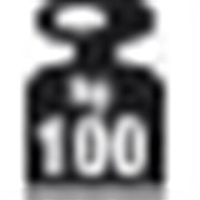 META hylde 100 kg, 750x300, 1 x hylde, Pulverlak