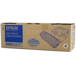 Epson C13S050435 lasertoner, sort, 8000s