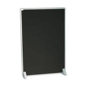 Silverlink akustikskillevæg 121,5x175 cm, sort