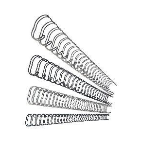 GBC metal spiralryg A4, 21 rings, 8mm, hvid