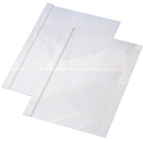 GBC Limbindsomslag 15 mm, hvid