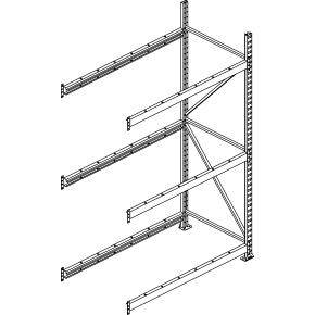 META Jumbo, 300x180x65, Stålplade,Tilbyg,Galvanis