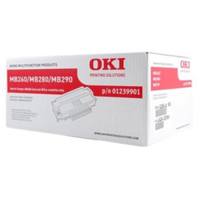 OKI 01239901 lasertoner, sort, 3000s