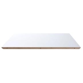 Ekstra plade hvid m/alu, til kantinebord/udtræk
