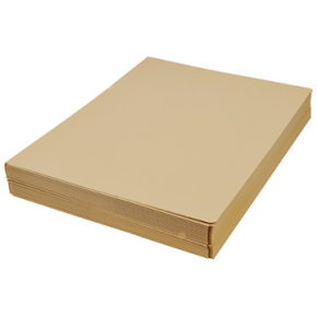 DKF Kartonmappe nr. 125, A4, gul