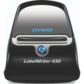 Dymo LabelWriter 450 med 3 ruller labeletiketter