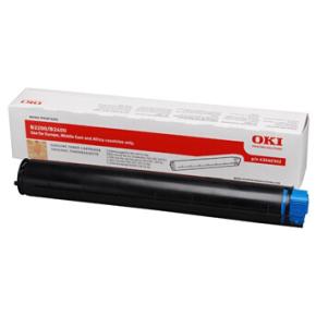OKI 43640302 lasertoner, sort, 2000s