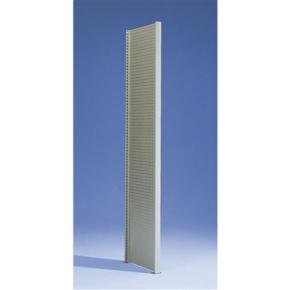 META Clip gavl perforeret, 300x40, Pulverlak