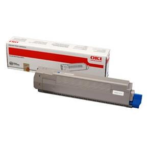 OKI 44643003 lasertoner, blå, 7300s
